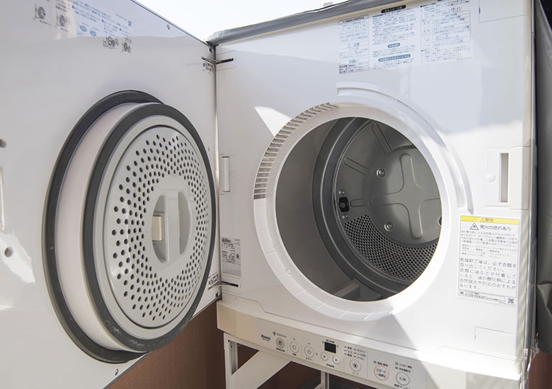 写真:衣類乾燥機